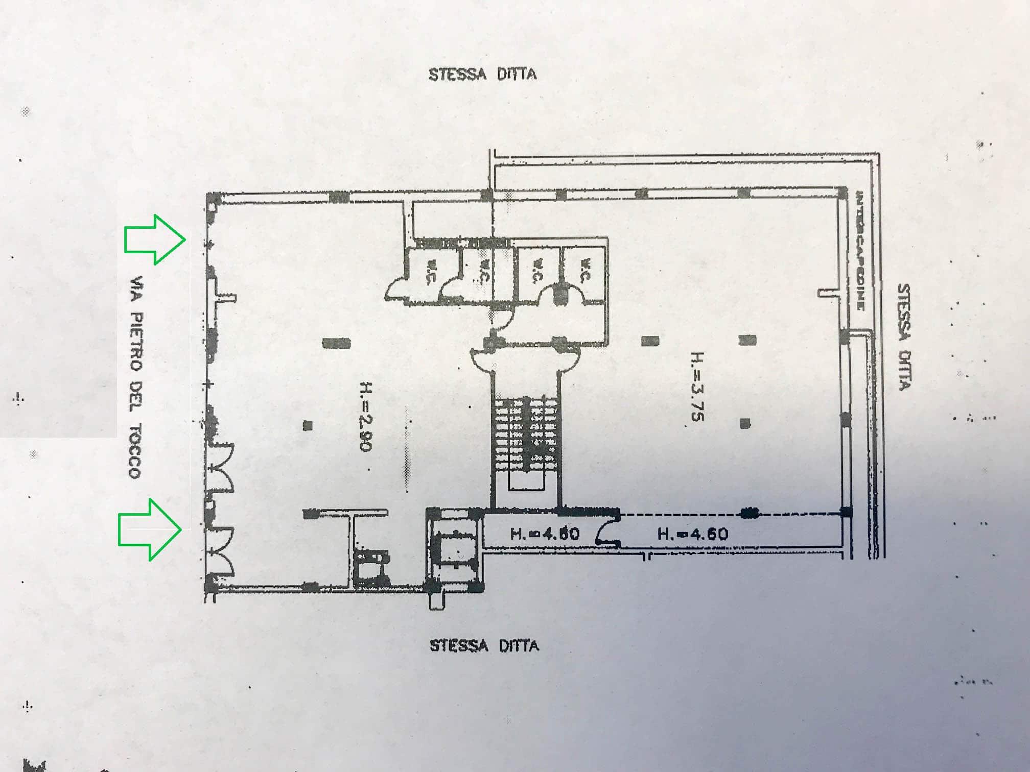Affitto locale commerciale – Via Pietro del Tocco, Martina Franca (Taranto)