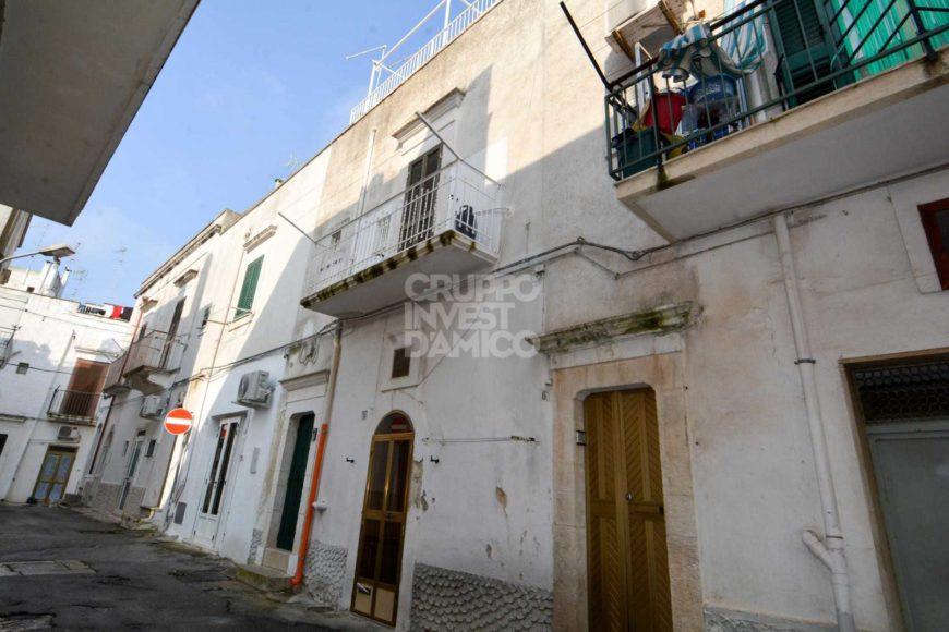 Vendita centro storico – Via Trento (zona ottocentesca), Ostuni (Brindisi)