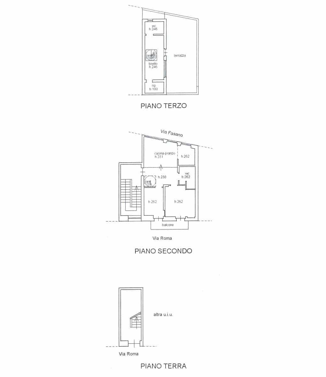 Apartment for sale – Via Roma, Cisternino (Brindisi)