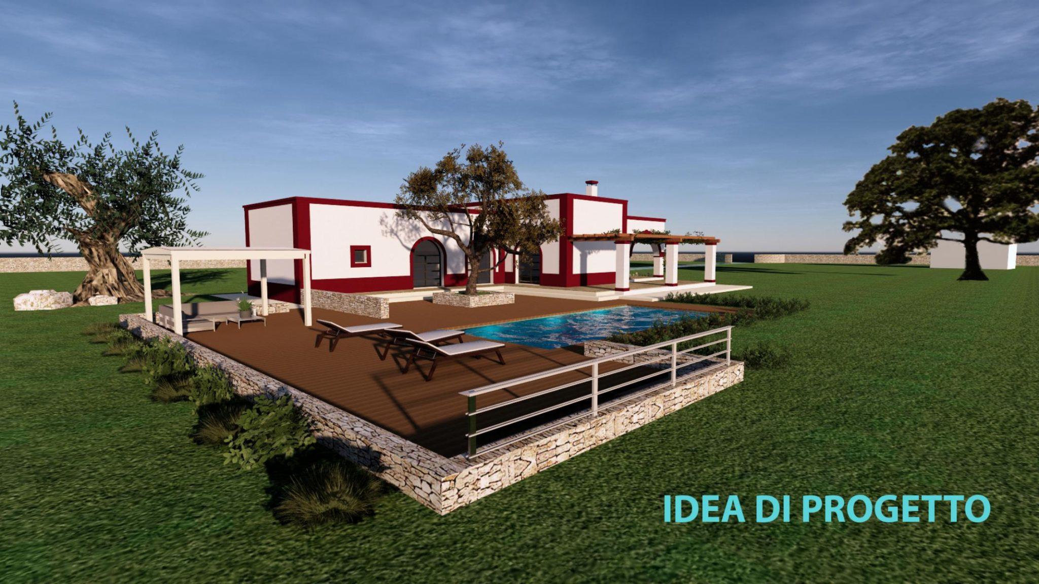 Vendita terreno – trulli e lamie rustici – Contrada Rascina, Ostuni (Brindisi)