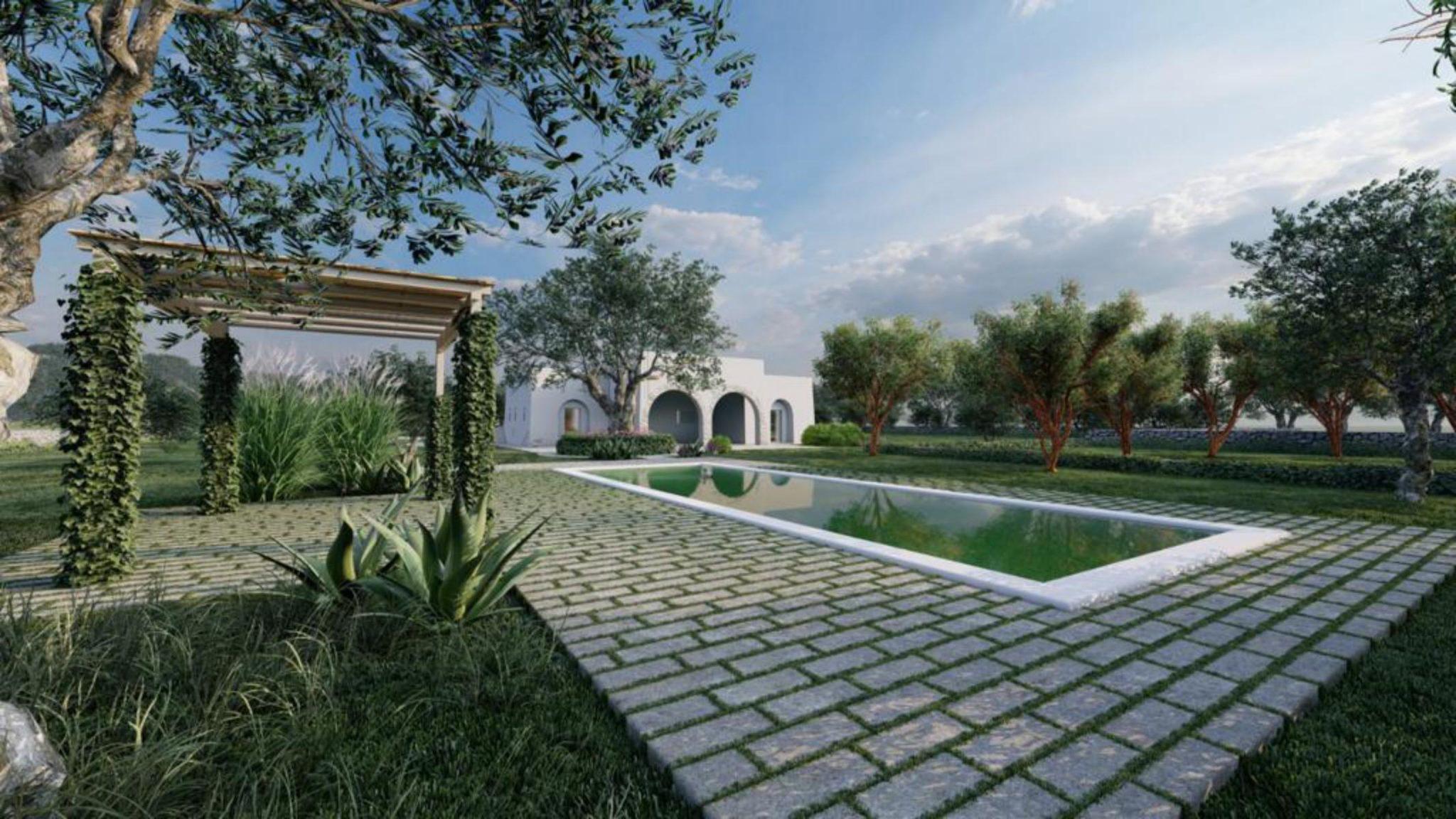 Vendita terreno con progetto – Contrada Cavallerizza, Ostuni (Brindisi)